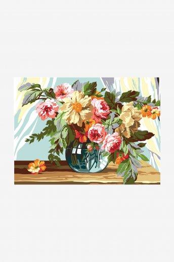 Antique Canvas - Bouquet