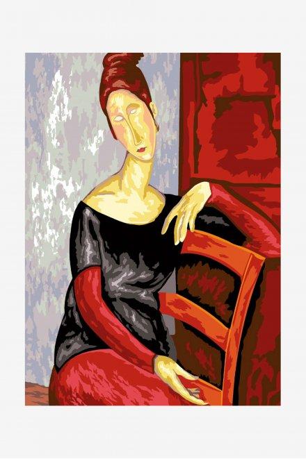 Antique Canvas - Modigliani's Jeanne