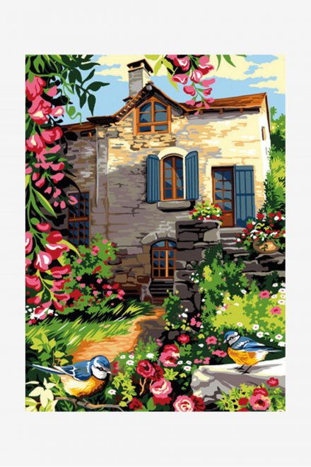 Antique Canvas - Country Cottage
