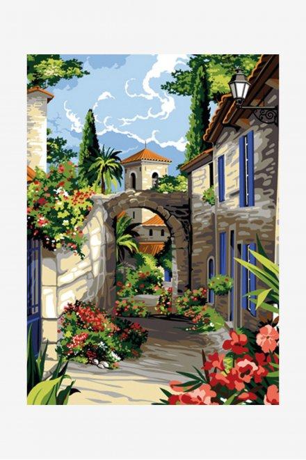 Antique Canvas - Provençal Street
