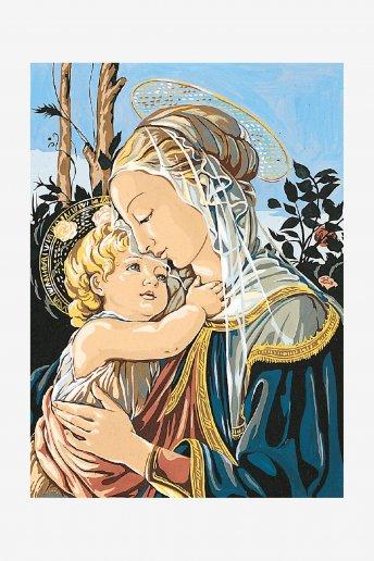 Antique Canvas - Madonna