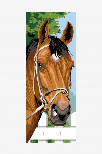 Cañamazo antique - El caballo