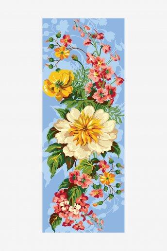 Cañamazo antique - Bouquet