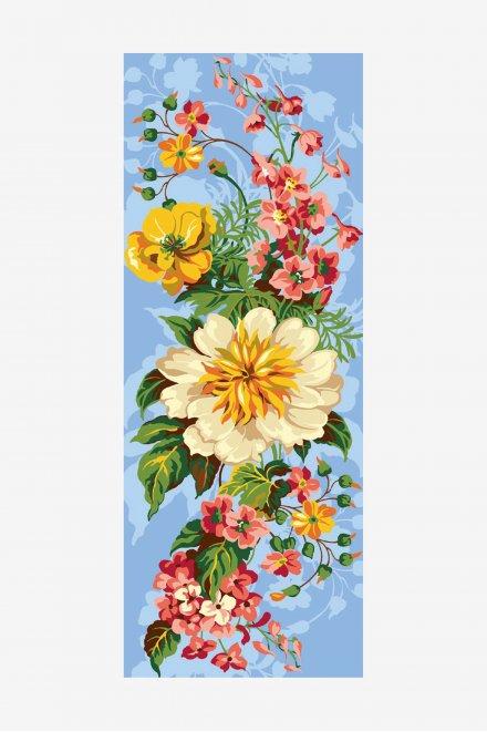 Antique Tapestry Canvas - Bouquet