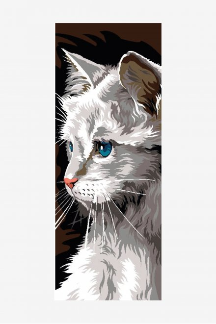 Antique Tapestry Canvas - Persian Cat