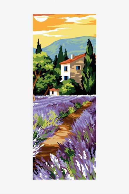 Antique Tapestry Canvas - Lavender Sunset