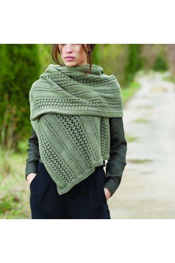 Modèle tricot kairi écharpe