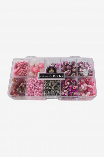 Perlenkästchen rosa Farbtöne kbado10k