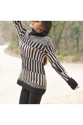 Modèle tricot kitzia pull