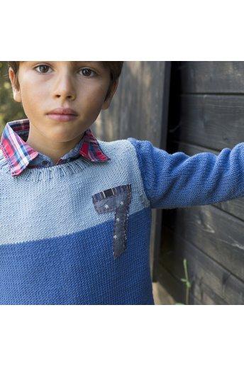 Modèle tricot liam pull