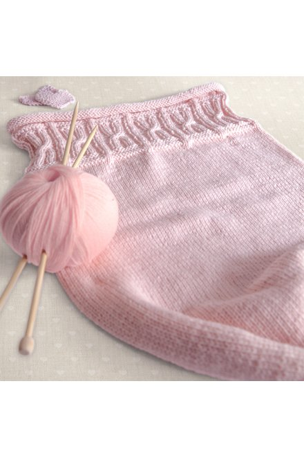 Modèle tricot little angel nid d'ange