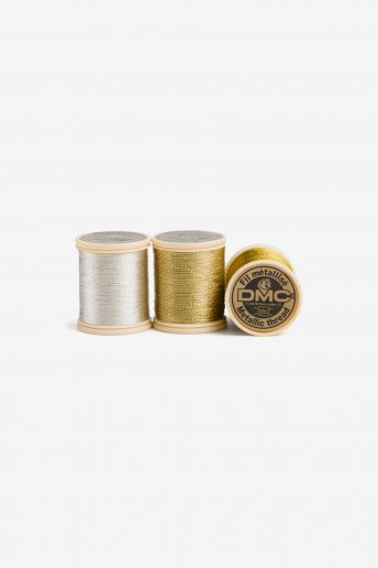 Metallic Embroidery Thread - 3 Colors Available