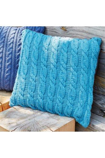 Modello tricot Moon cuscino