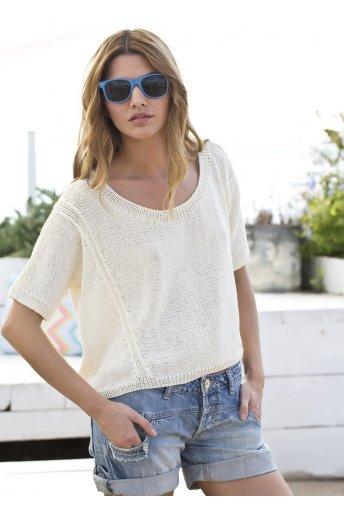 Modèle tricot jasmin t-shirt