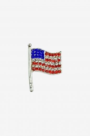 USA Flag Needle Minder