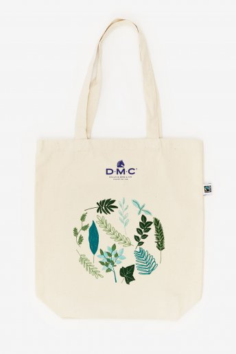 Pack sac motif feuilles persistantes