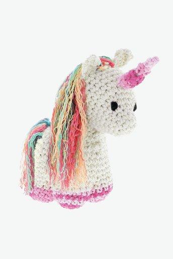 Kit amigurumi Nora el unicornio
