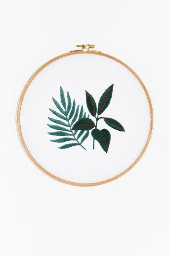 Sew & Saunders - Rubber Plant & Fern  pattern