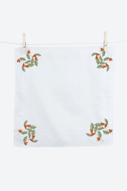 Fleur tropicale - motif broderie