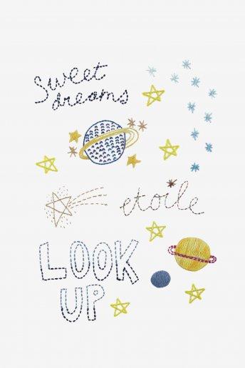 Intergalactic bons sonhos - desenho