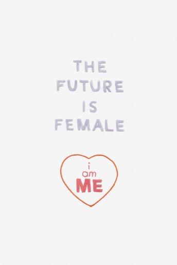 Girl power el futuro es de la mujer - diseño
