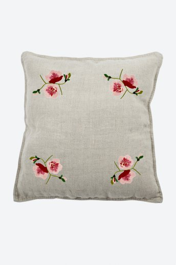 Flower power magnolia - motif broderie