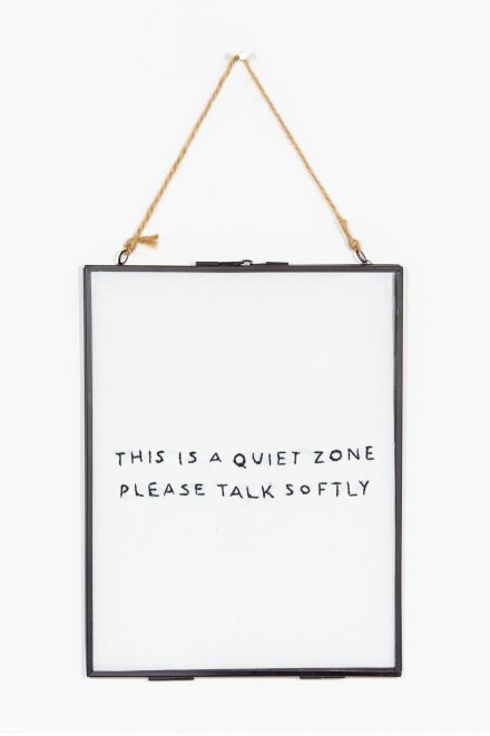 This is a Quiet Zone  pattern