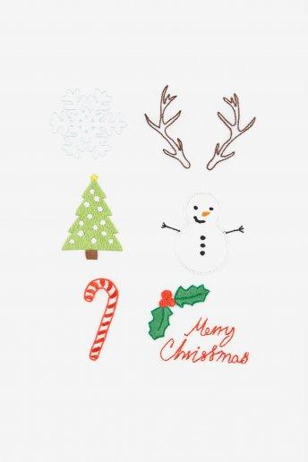 Weihnachtsbogen - STICKMOTIV