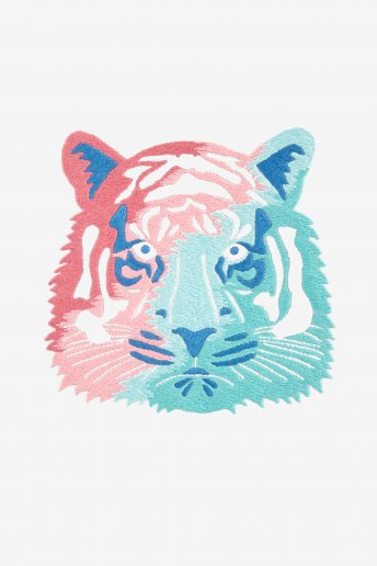 Tigre - motif broderie