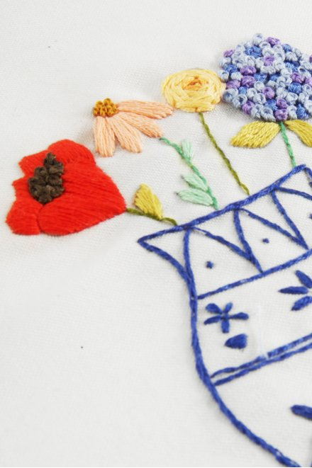 Chinois - motif broderie