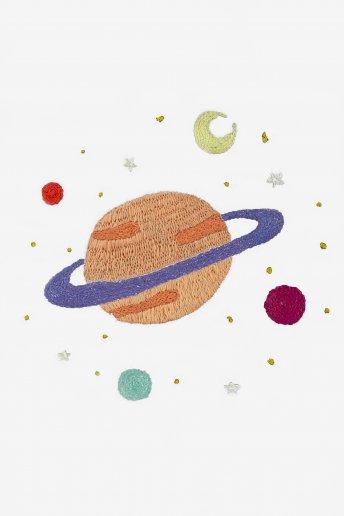 Galaxie - motif broderie