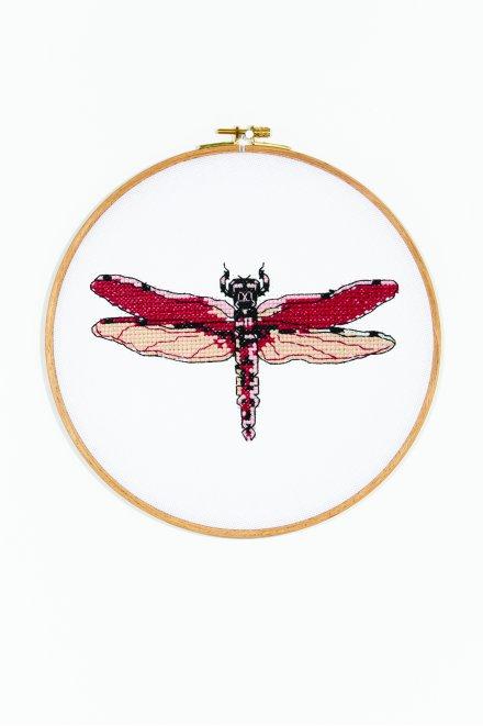 Dragonfly diana - Diagramme point de croix