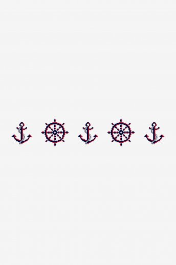 Nautical Anchor - pattern