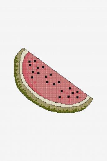 Fruit sandía - diagrama