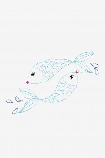 Zodiac peixes - desenho