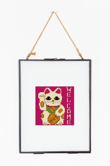 Lucky Maneki Cat  pattern