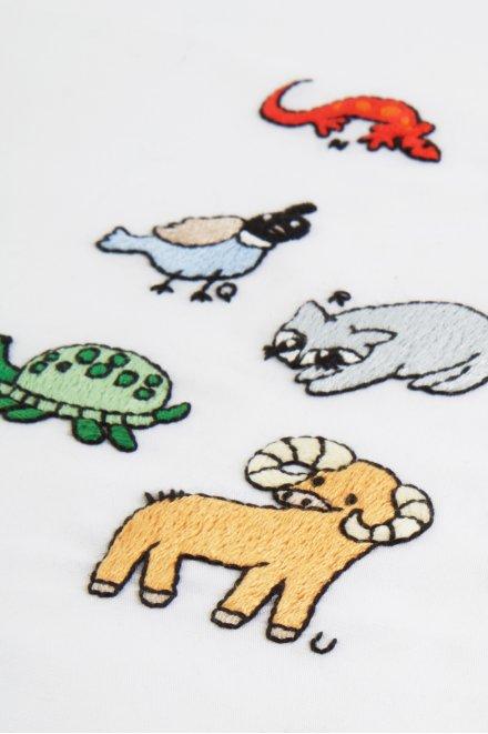 English Animal Alphabet N-Z  pattern