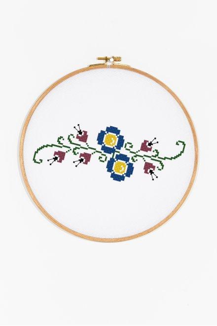 Floral Border - pattern