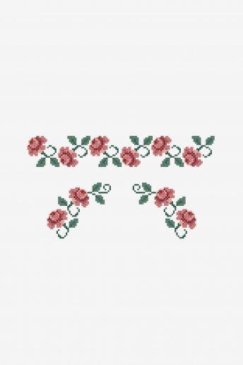 Debrum de rosas - esquema