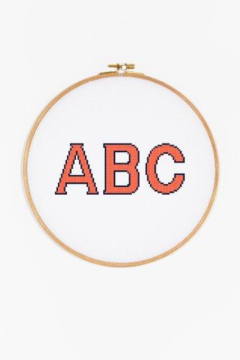 Capital Alphabet  pattern