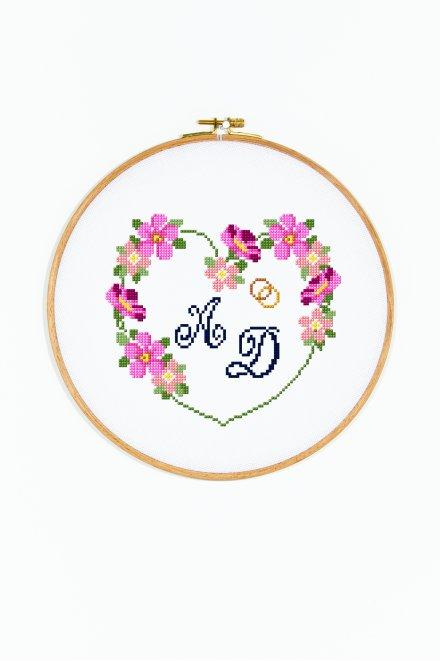 Ghirlanda personalizzata per matrimonio
