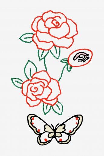 Planta Olho do Amante - desenho