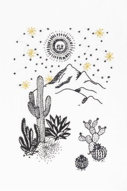 Under The Stars  pattern
