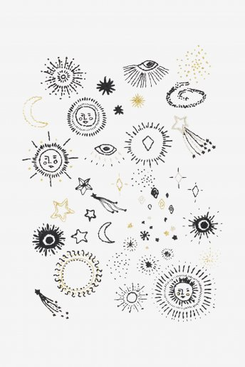 Celestial Elements - pattern