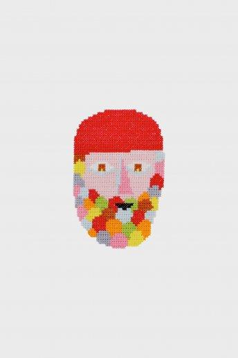Barbe automnale  - Diagramme point de croix