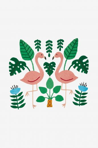 Flamingo - pattern