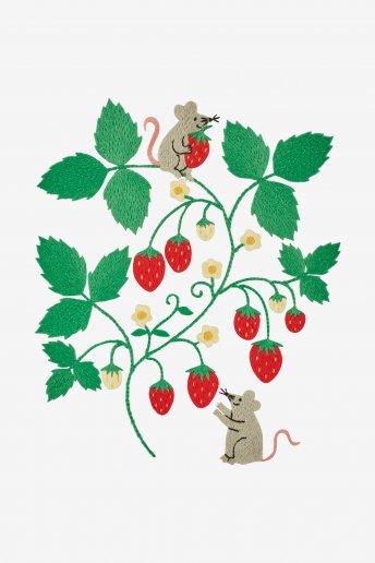 Ratón - Diagrama de bordado