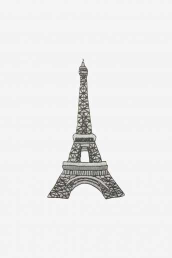 Eiffel Tower - pattern