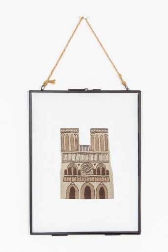 Notre dame - motif broderie