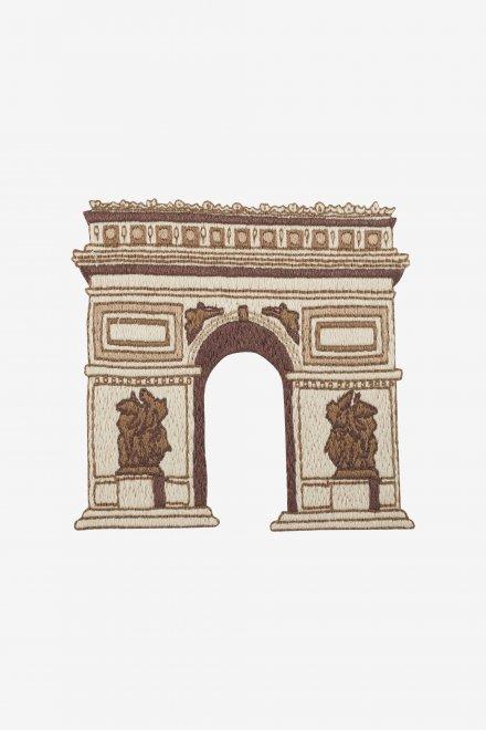 Arc de triomphe - motif broderie